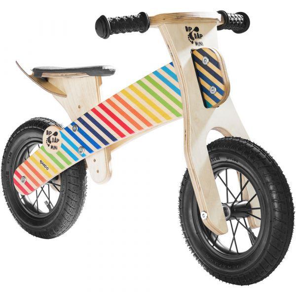 【JAKO-O】木製平衡滑步車-彩紅條紋 學步車,滑步車,平衡車