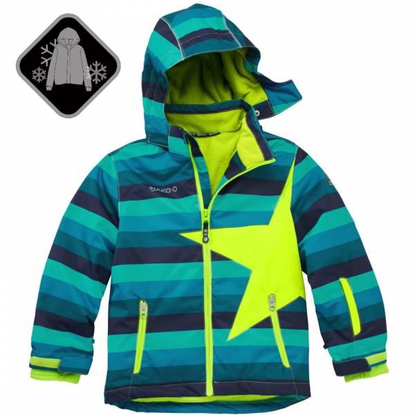 【JAKO-O】經典星星雪衣外套-藍條 (兒童雪衣外套) 雪衣外套,兒童雪衣,保暖外套
