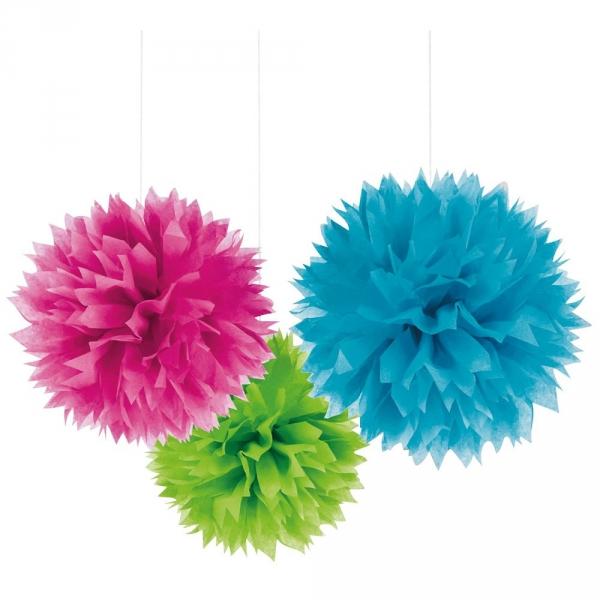【JAKO-O】繽紛紙球花(3入) 生日,派對聚會,美勞手作