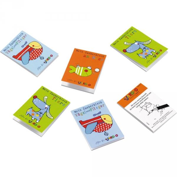 【JAKO-O】魔術塗鴉畫本(6入) 手作,創作,兒童勞作,紀念品