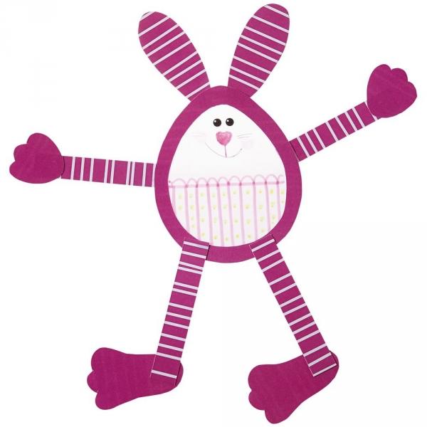 【JAKO-O】創意手作窗貼組(12組入)–迷你兔子與彩蛋 JAKO-O,兒童創意手作,親子關係,DIY,生活藝術,創意diy,親子