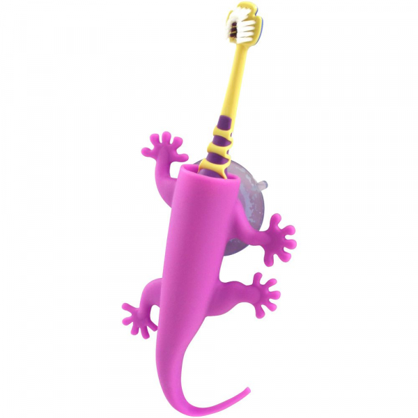 【JAKO-O】蜥蜴牙刷吸盤 刷牙,兒童牙膏,兒童牙刷,塗氟