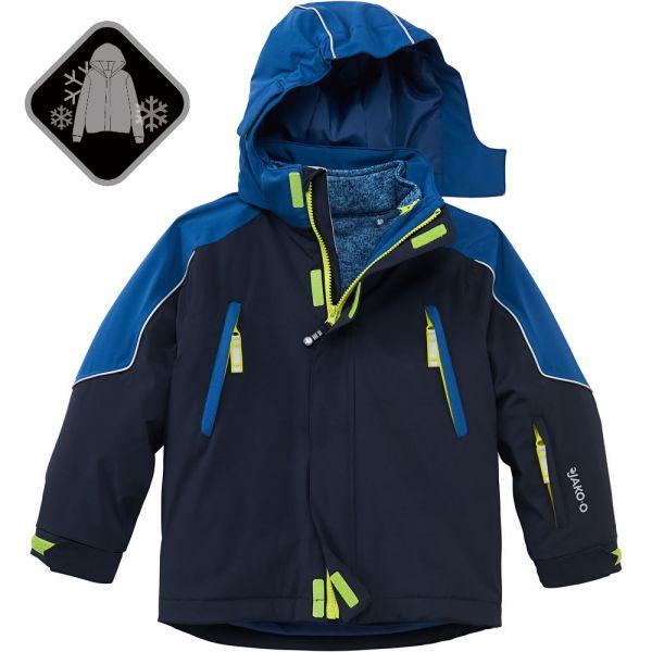 【JAKO-O】兩件式極暖雪衣外套-深藍色 (兒童雪衣外套) 雪衣外套,兒童雪衣,保暖外套