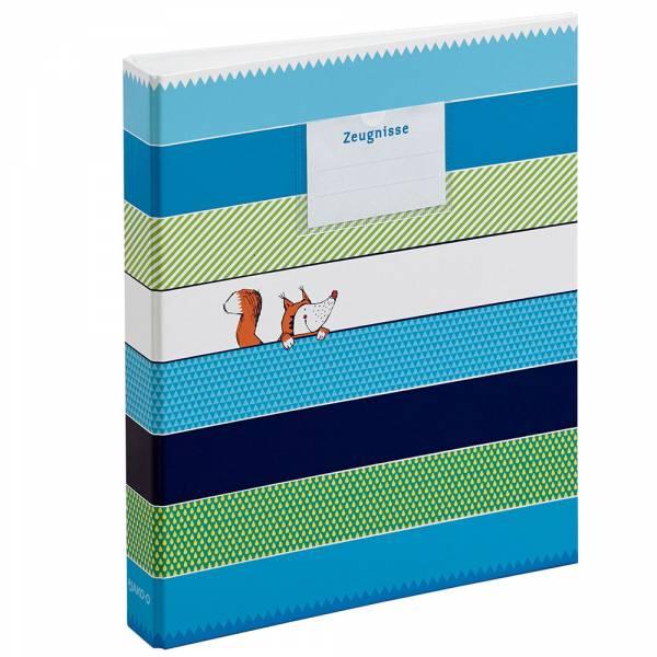 【JAKO-O】文件夾-趣味條紋 文件夾,文具,收納夾