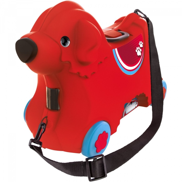 【JAKO-O】狗狗造型收納箱(可騎乘/可側背/可手提) 行李箱,收納箱,狗狗,可騎乘行李箱