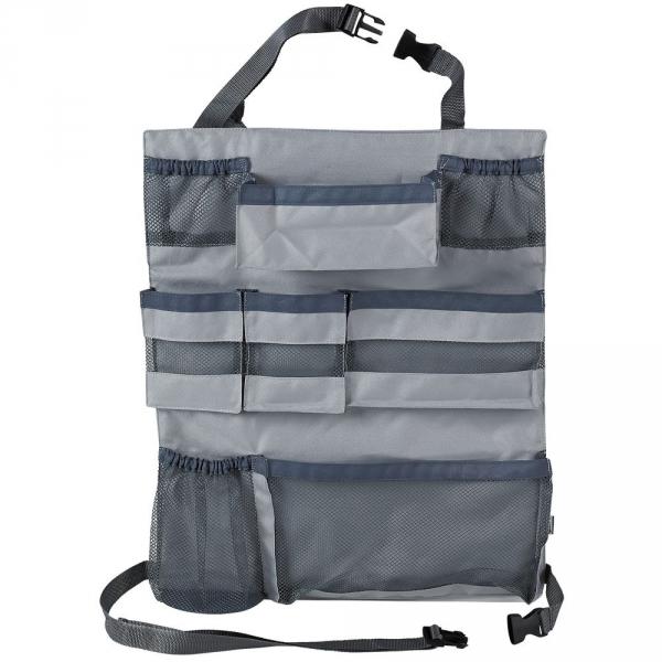 【JAKO-O】車用背掛收納袋-灰 車用收納袋,吊掛袋,收納