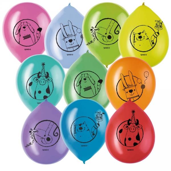 【JAKO-O】動物園彩色氣球組 派對聚會,佈置,氣球