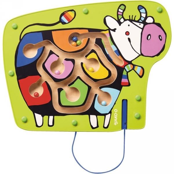 【JAKO-O】哞哞牛磁力遊戲盤 遊戲,智力遊戲,玩具,益智遊戲