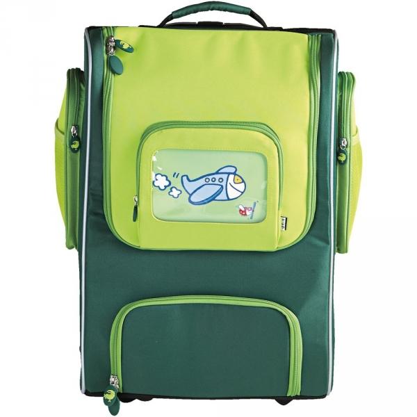 【JAKO-O】多用途拉桿書包(28公升)–綠色 書包,背包,包包,行李箱
