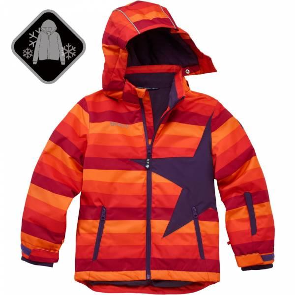 【JAKO-O】經典星星雪衣外套-橘條 (兒童雪衣外套) 雪衣外套,兒童雪衣,保暖外套