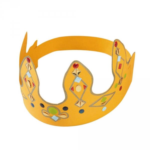 【JAKO-O】 DIY創意手作皇冠組-黃(8入) JAKO-O,兒童創意手作,親子關係,DIY,生活藝術,創意diy,親子