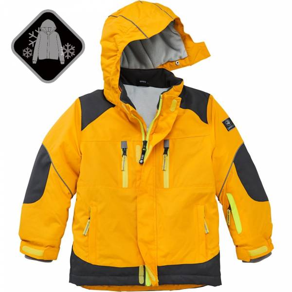【JAKO-O】戶外防水加厚鋪棉外套-黃 (兒童雪衣外套) 雪衣外套,兒童雪衣,保暖外套