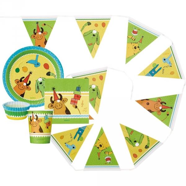 【JAKO-O】動物派對組 生日,派對,聚會,創作,客製,兒童勞作,
