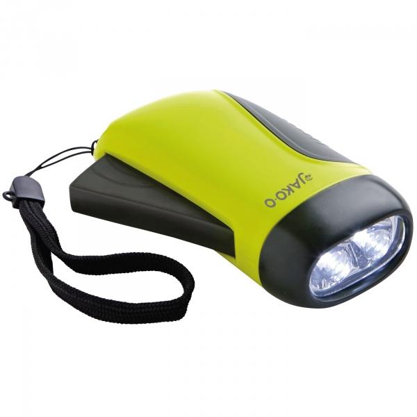 【JAKO-O】手壓式發電LED手電筒 LED燈,手電筒, 綠能發電,用愛發電,停電備用,