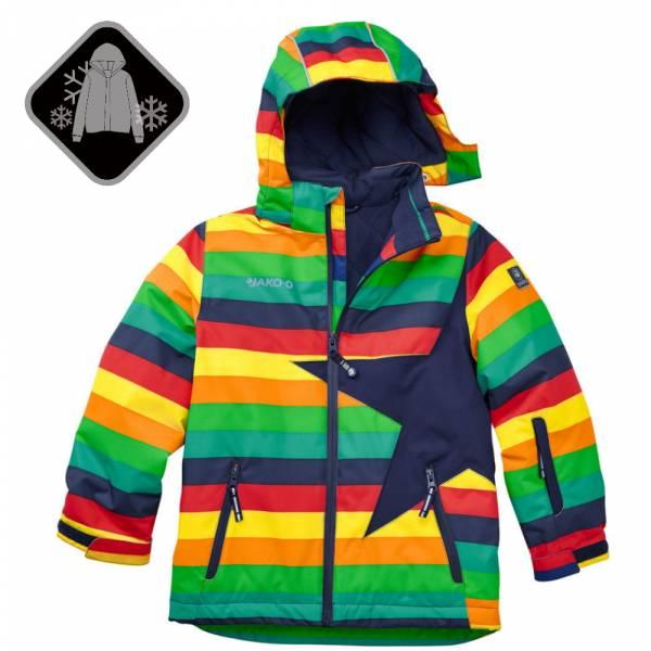 【JAKO-O】經典星星雪衣外套-彩條 (兒童雪衣外套) 雪衣外套,兒童雪衣,保暖外套