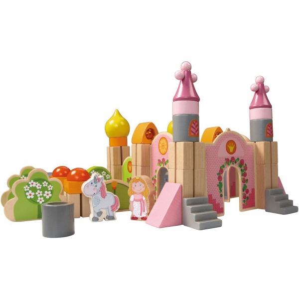 【JAKO-O】HABA粉紅泡泡木製城堡組(積木) 積木,玩具,益智玩具,城堡