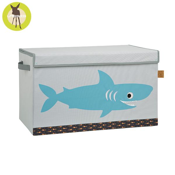 德國LASSIG-玩具收納箱-小鯊魚 玩具收納,德國lassig