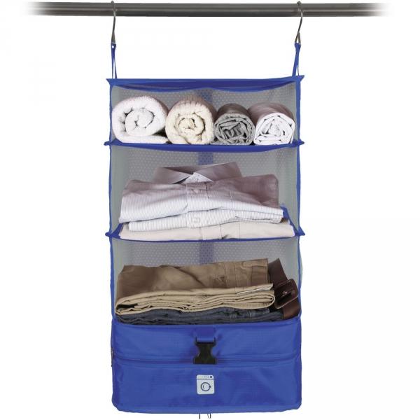 【JAKO-O】行李分層收納掛架(小)-藍色 置物架,架子