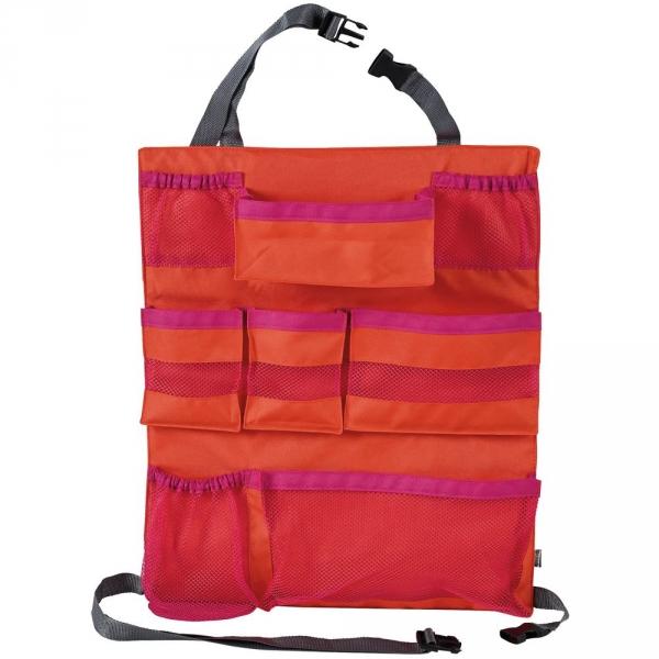 【JAKO-O】車用背掛收納袋-紅 車用收納袋,吊掛袋,收納