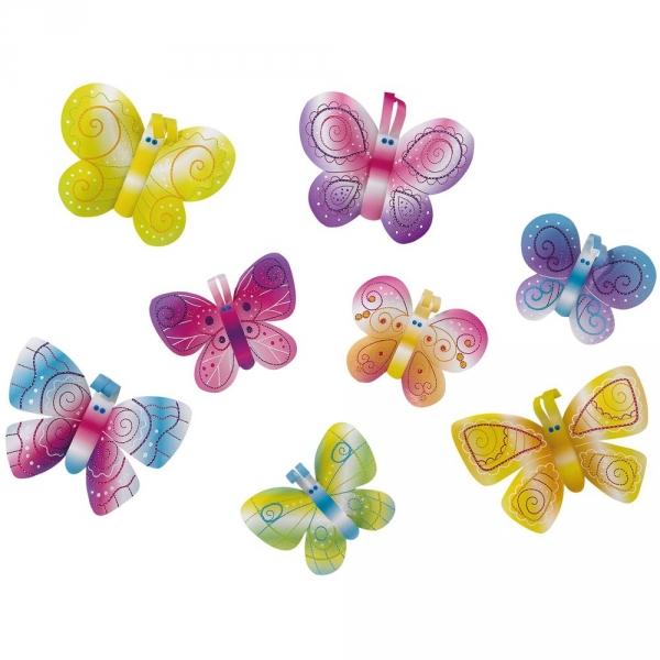 【JAKO-O】穿刺手作組–蝴蝶(16入) 兒童創意手作,親子關係,DIY,蛋蛋,復活節,兔兔