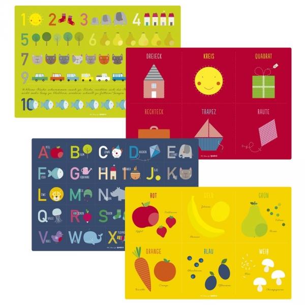 【JAKO-O】兒童教育學習餐墊 餐墊,桌墊
