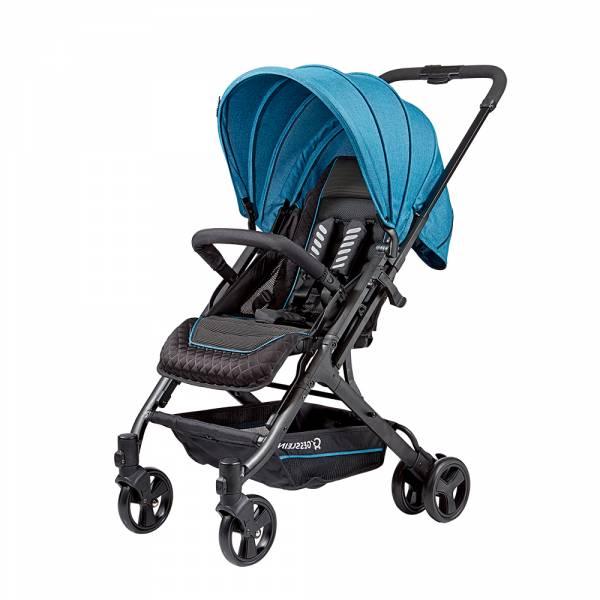 GESSLEIN S8歐風輕休旅嬰兒手推車(西藏青) 嬰兒推車,新生兒,輕量