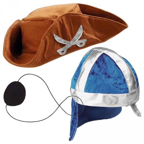【JAKO-O】遊戲服裝頭飾-海盜/騎士兩件組 服飾,派對,裝扮遊戲,遊戲服裝