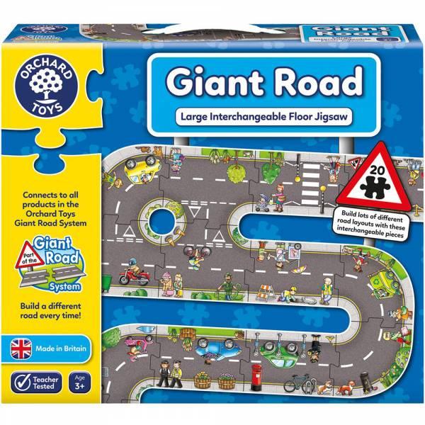 【JAKO-O】大型道路拼圖 遊戲,交通遊戲,玩具,汽車遊戲