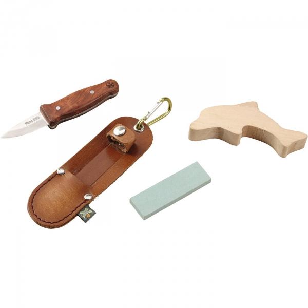 【JAKO-O】Terra探險家-木頭雕刻組-海豚 雕刻,手作,露營,雕刻刀
