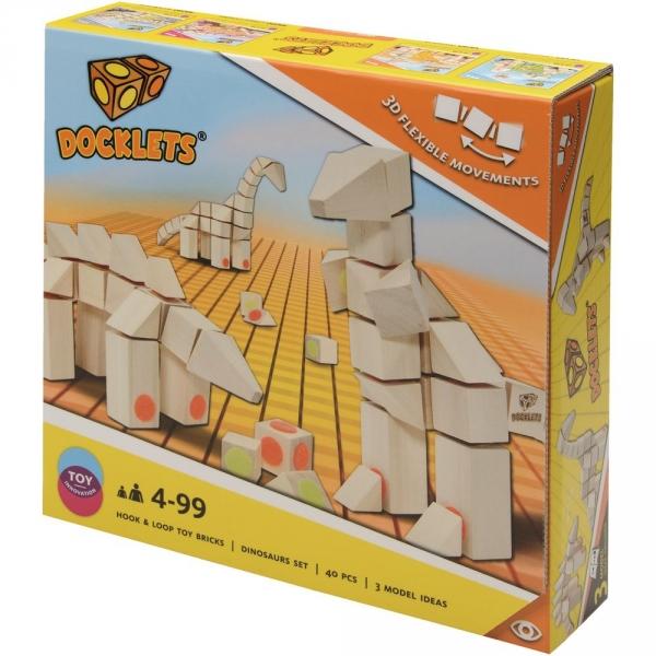 【JAKO-O】Docklets 恐龍積木組 積木,玩具,益智玩具