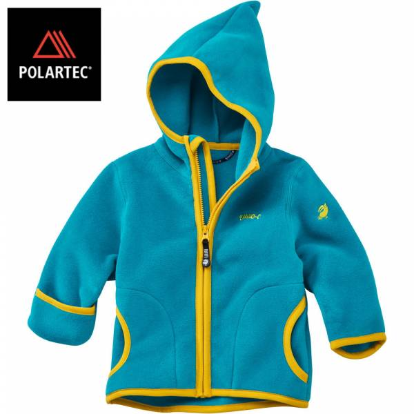 【JAKO-O】POLARTEC®連帽外套(水藍) 機能外套,寶寶外套,POLARTEC