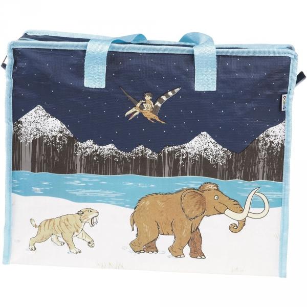 【JAKO-O】收納袋–長毛象 收納袋,購物袋,袋子,收納整理