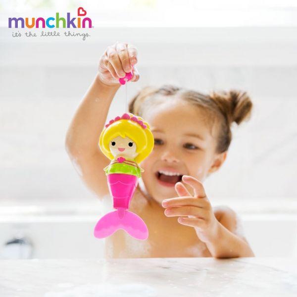 munchkin滿趣健-美人魚游泳洗澡玩具 幼童 玩水 安全 戲水 游泳