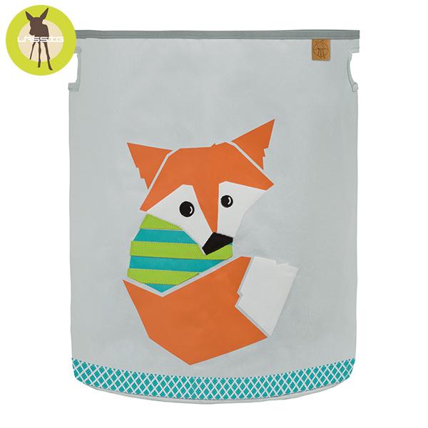 德國LASSIG-玩具收納籃-小狐狸 玩具收納,德國lassig