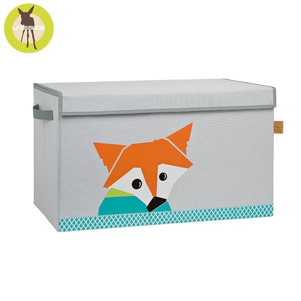 德國LASSIG-玩具收納箱-小狐狸 玩具收納,德國lassig