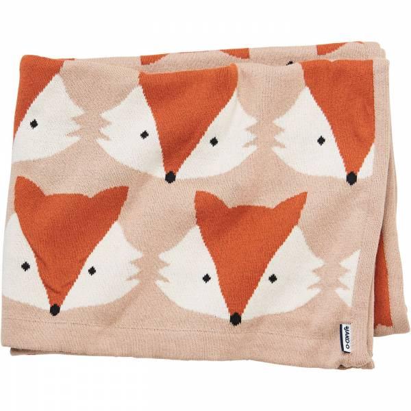 【JAKO-O】可愛動物保暖毯-狐狸 德國,JAKO-O,