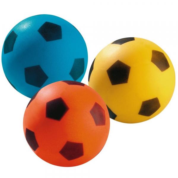 【JAKO-O】泡綿軟球(3件組) 兒童,球類,手眼協調