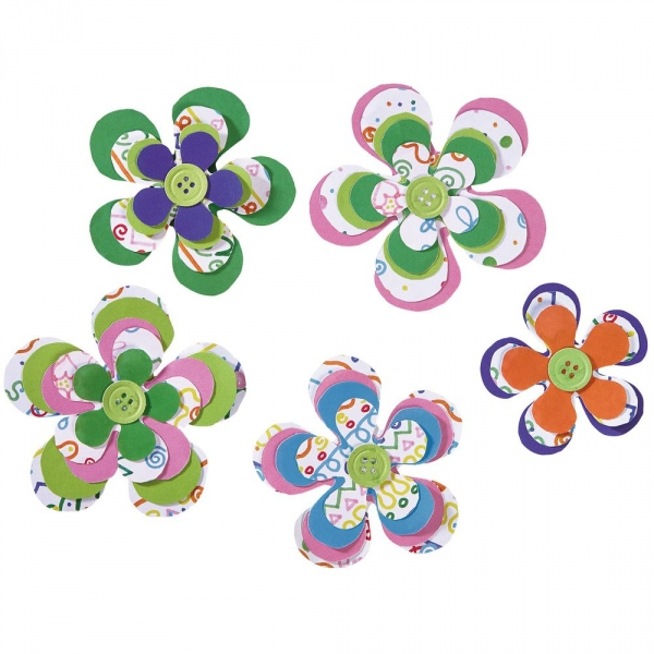 【JAKO-O】創意手作組–立體花朵 JAKO-O,兒童創意手作,親子關係,DIY,生活藝術,創意diy,親子