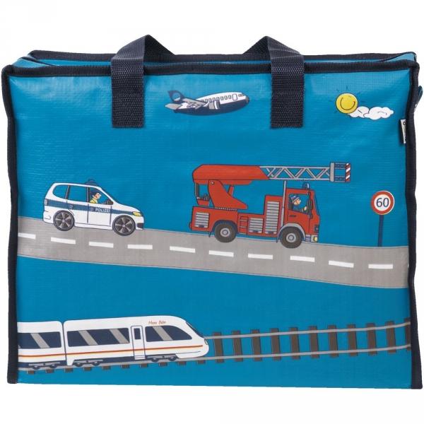 【JAKO-O】收納袋–消防車 收納袋,購物袋,袋子,收納整理