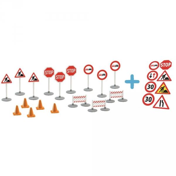 【JAKO-O】交通標誌組合(17件入) 遊戲,交通,玩具,汽車,號誌