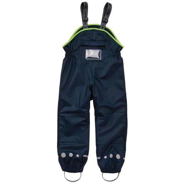 【JAKO-O】防潑水連身褲-深藍 (兒童雨褲/防水褲) 幼童服飾,童裝,雨褲