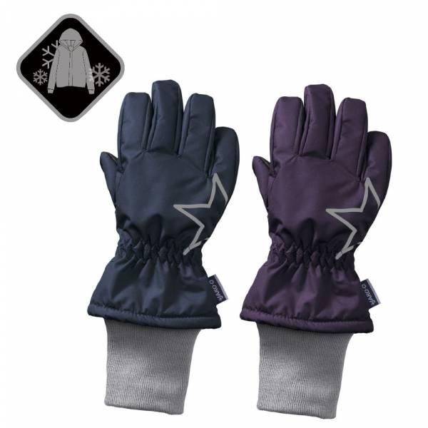 【JAKO-O】防水透氣保暖手套-海軍藍/紫 (兒童滑雪手套)  防水手套,滑雪手套,兒童雪衣