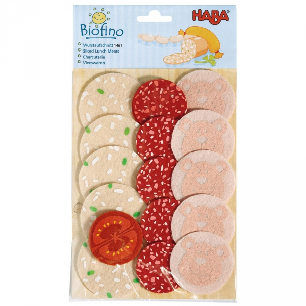 【JAKO-O】HABA 廚房遊戲–義式香腸片 積木,玩具,益智玩具,廚房