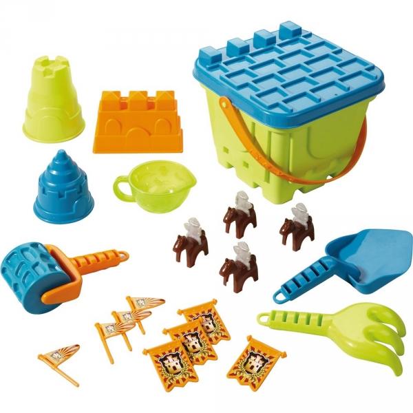 【JAKO-O】沙堡堆砌工具組–綠色 沙灘玩具,玩具