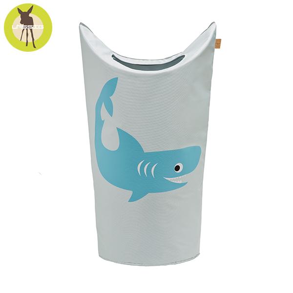 德國LASSIG-洗衣收納袋-小鯊魚 玩具收納,德國lassig