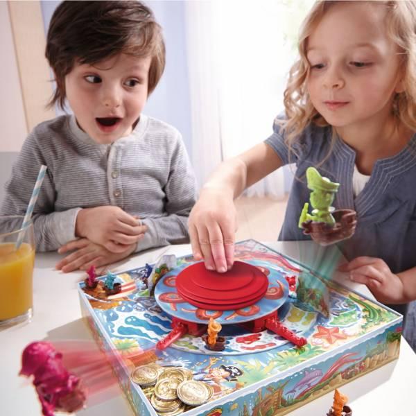 【JAKO-O】HABA 章魚奪寶記 益智,德國桌遊,桌上遊戲,章魚奪寶記