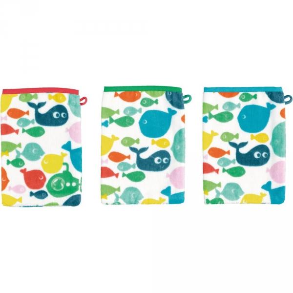 【JAKO-O】海底世界BABY擦澡巾(3入) 德國,JAKO-O,擦澡巾,洗澡,寶寶,浴室,居家,生活