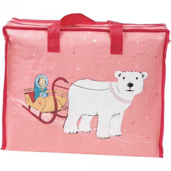 【JAKO-O】收納袋–冰雪公主 收納袋,購物袋,袋子,收納整理