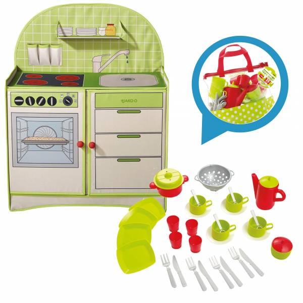 【JAKO-O】歡樂廚房遊戲組 扮家家酒,廚房遊戲,角色扮演,好收納