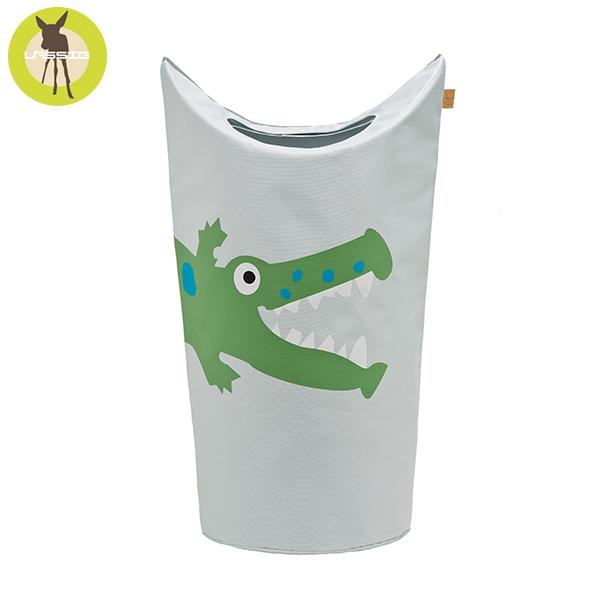 德國LASSIG-洗衣收納袋-小鱷魚 玩具收納,德國lassig